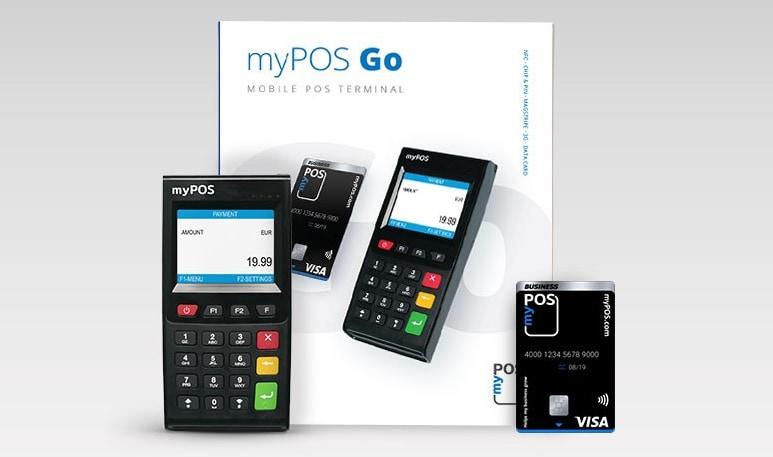myPOS Go-Paketinhalt