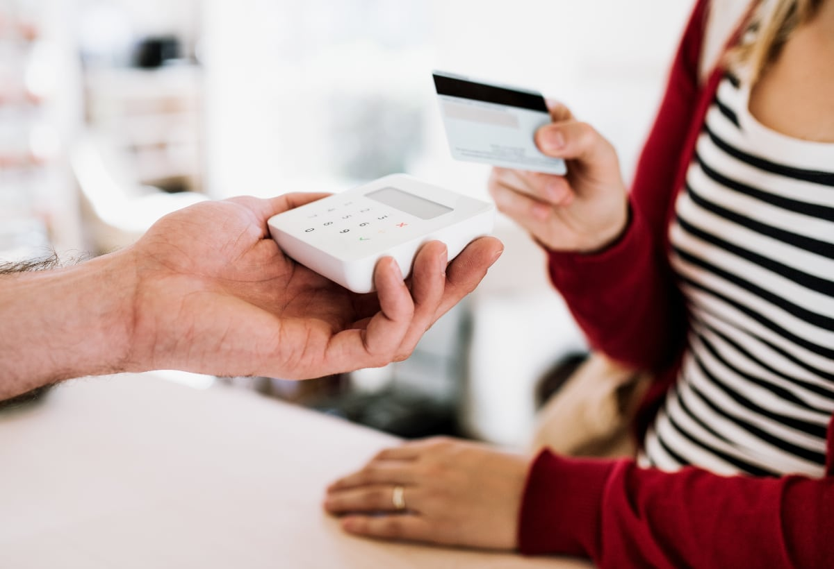 SumUp Air mit Zahlungskarte