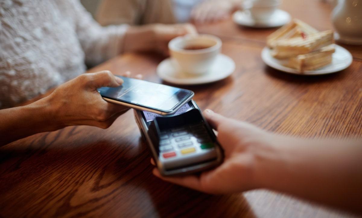 Mobiles bargeldloses bezahlen