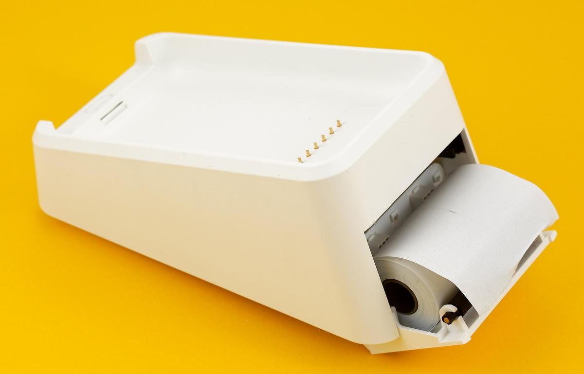 Belegssrolle des SumUp 3G Druckers