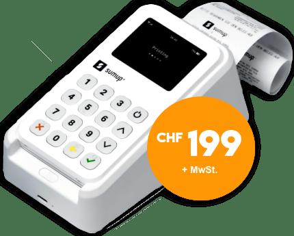 SumUp 3G mit Drucker CHF 199 Angebot