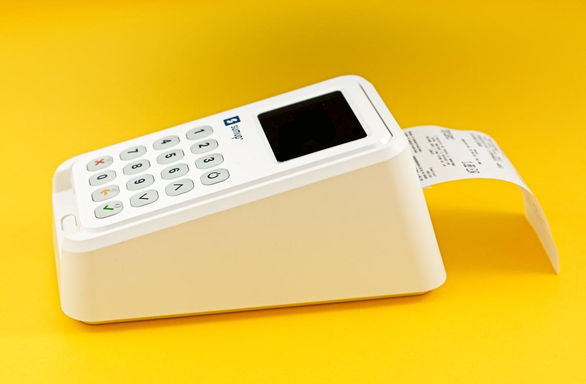Drucken eines Belegs mit dem SumUp 3G Bondrucker (