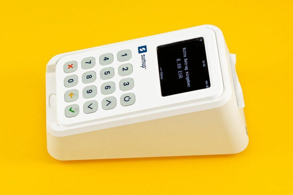 SumUp 3G Ladestation (Seiteansicht)