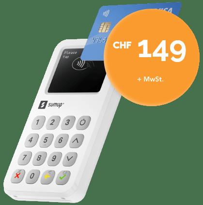 SumUp 3G CHF 149 Angebot