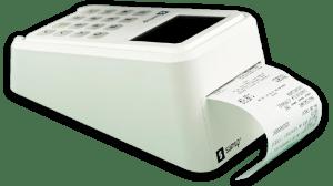 SumUp 3G mit Bondrucker (Dreiviertelansicht)