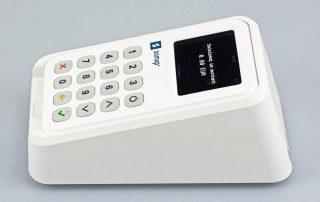 SumUp 3G avec imprimante, vue de profil